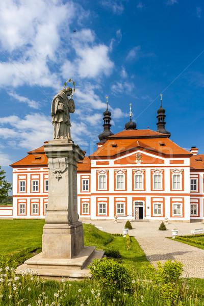 Stock photo: cistercian priory, Mariansky Tynec, Czech Republic