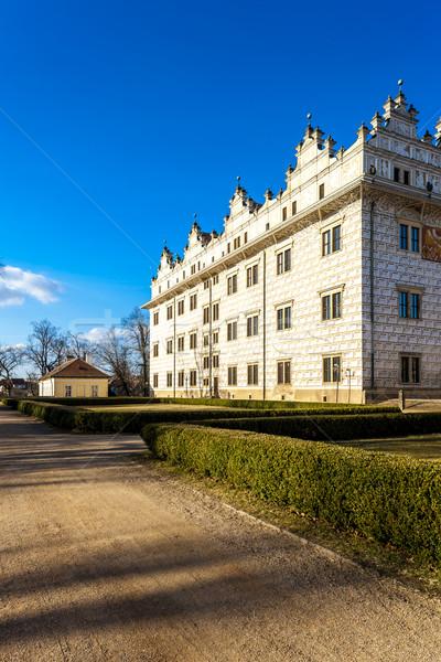 дворец Чешская республика замок архитектура история улице Сток-фото © phbcz