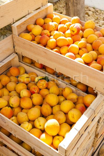Mercado Francia alimentos aire libre nutrición fuera Foto stock © phbcz