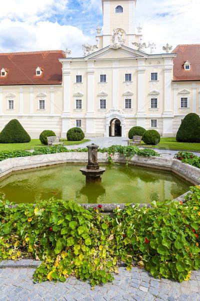 benedictine monastery with garden in Altenburg, Lower Austria, A Stock photo © phbcz