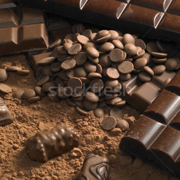 шоколадом натюрморт фоны есть конфеты выбора Сток-фото © phbcz