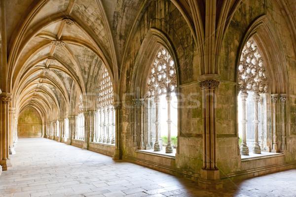 Kraliyet manastır kilise mimari Gotik Stok fotoğraf © phbcz