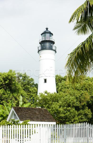 Kulcs nyugat világítótorony Florida kulcsok USA Stock fotó © phbcz