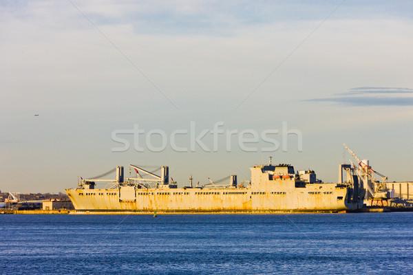 port in Upper New York Bay, USA Stock photo © phbcz