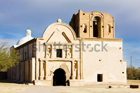 Arizona USA templom építészet történelem küldetés Stock fotó © phbcz