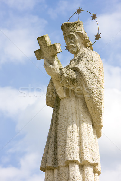 statue of Saint Jan Nepomucky, Nepomuk, Czech Republic Stock photo © phbcz