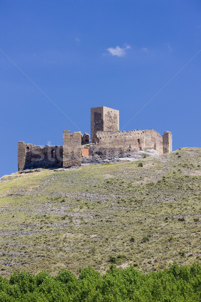 ruins of castle, Spain Stock photo © phbcz