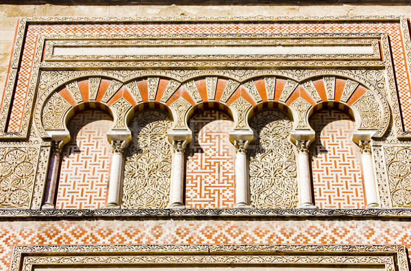 detail of Mosque-Cathedral, Cordoba, Andalusia, Spain Stock photo © phbcz