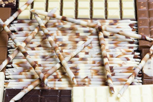 chocolate still life Stock photo © phbcz
