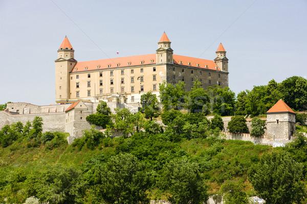 Bratislava castelo Eslováquia edifício arquitetura história Foto stock © phbcz