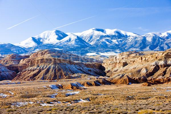 winter landscape of Utah near Lake Powell, USA Stock photo © phbcz