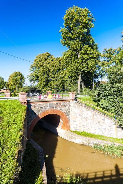 Elblag canal, Warmian-Masurian Voivodeship, Poland Stock photo © phbcz