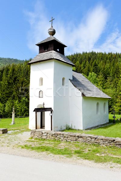 church in Museum of Kysuce village, Vychylovka, Slovakia Stock photo © phbcz