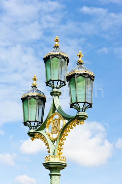 street lamp, Great Britain Stock photo © phbcz