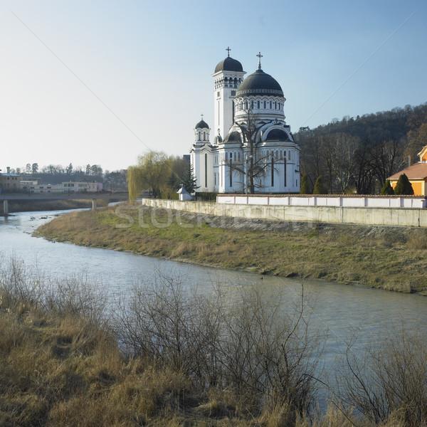 Ortodoxo catedral Rumania edificio arquitectura historia Foto stock © phbcz