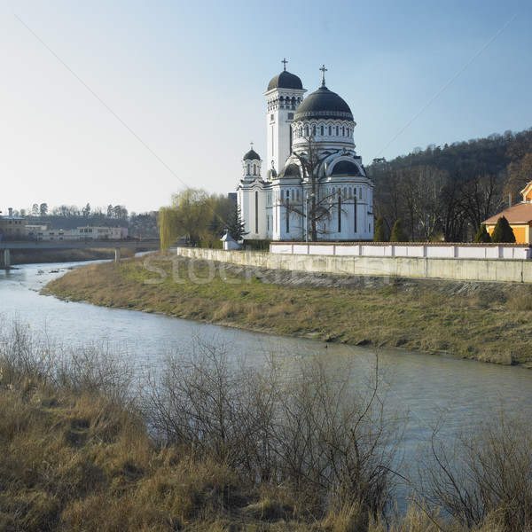 orthodox cathedral, Sighisoara, Romania Stock photo © phbcz