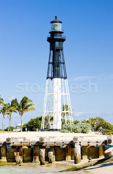 Stock photo: Hillsboro Lighthouse, Pompano Beach, Florida, USA