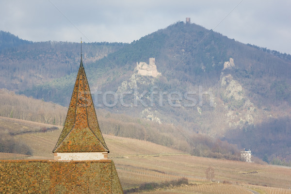 Stockfoto: Frankrijk · gebouw · reizen · architectuur · ruines · dorp