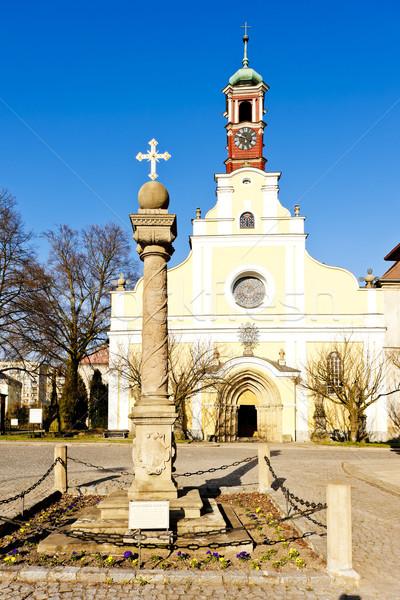 Церкви девственница предположение полиции Чешская республика здании Сток-фото © phbcz