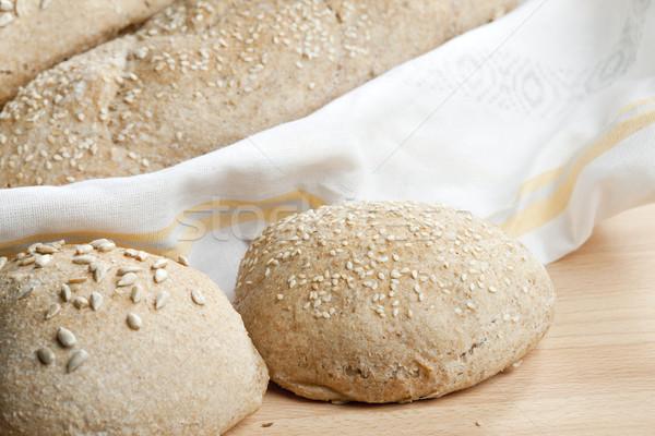 ペストリー 食品 パン インテリア ベーカリー ストックフォト © phbcz