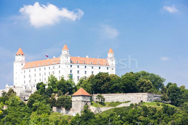 Bratislava castelo Eslováquia cidade viajar arquitetura Foto stock © phbcz