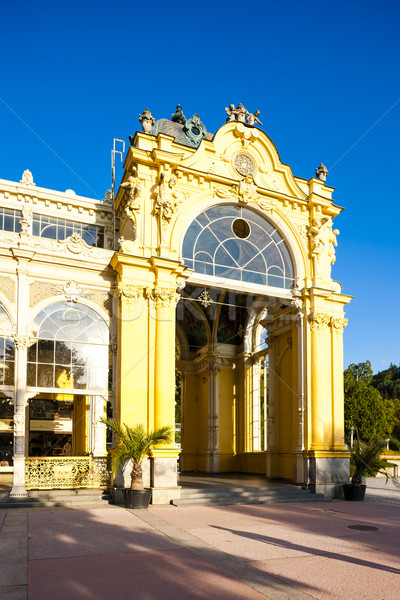 Colonnade, Marianske Lazne (Marienbad), Czech Republic Stock photo © phbcz