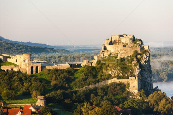 ストックフォト: 遺跡 · 城 · スロバキア · 建物 · アーキテクチャ · ヨーロッパ