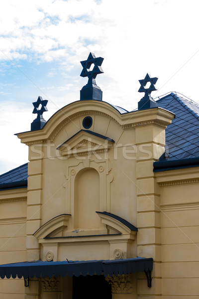 Sinagoga República Checa igreja viajar arquitetura europa Foto stock © phbcz