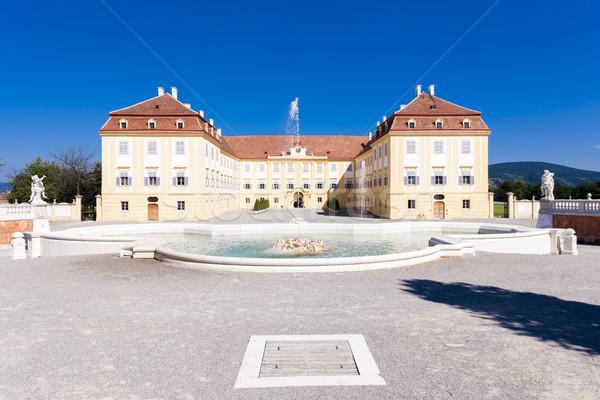 Palace Hof, Lower Austria, Austria Stock photo © phbcz