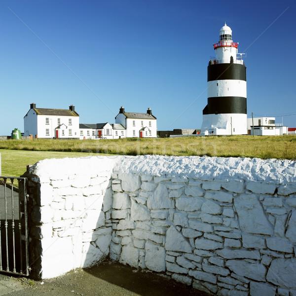 Deniz feneri kanca kafa İrlanda Bina ışık Stok fotoğraf © phbcz