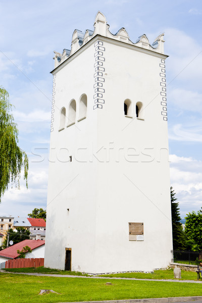 renaissance belfry, Spisska Bela, Slovakia Stock photo © phbcz