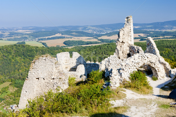 ruins of Cachtice Castle, Slovakia Stock photo © phbcz