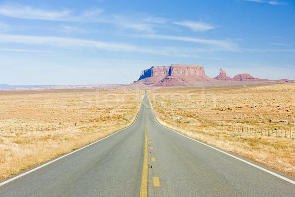 Stockfoto: Weg · vallei · park · Arizona · USA · reizen