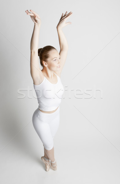 ballet dancer Stock photo © phbcz