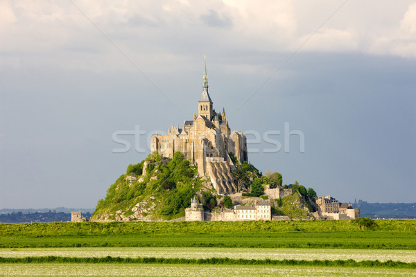 Mont-Saint-Michel, Normandy, France Stock photo © phbcz