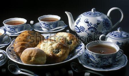 tea set Stock photo © phbcz
