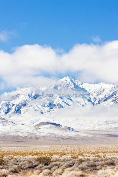 Montanhas Las Vegas Nevada EUA paisagem neve Foto stock © phbcz