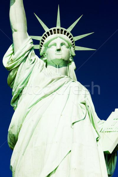 Foto stock: Detalle · estatua · libertad · Nueva · York · EUA · viaje
