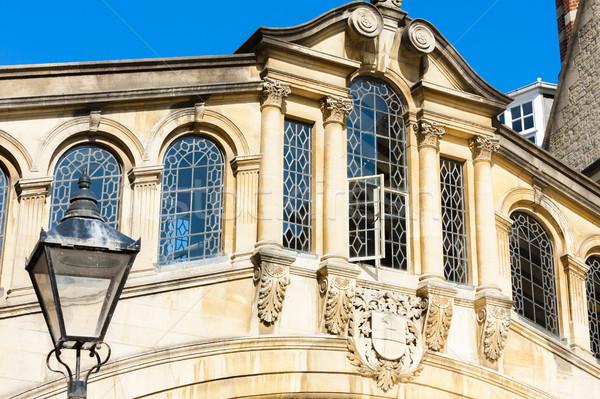 моста Оксфорд Оксфордшир Англии путешествия архитектура Сток-фото © phbcz
