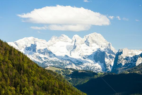 мнение Запад Австрия пейзаж снега гор Сток-фото © phbcz