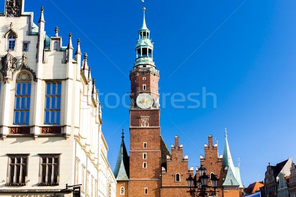ратуша основной рынке квадратный Польша здании Сток-фото © phbcz