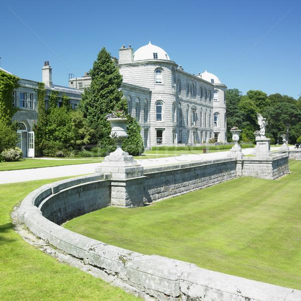 Huis Ierland gebouw architectuur geschiedenis outdoor Stockfoto © phbcz