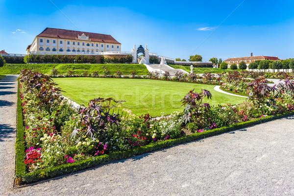 дворец саду снизить Австрия цветок здании Сток-фото © phbcz