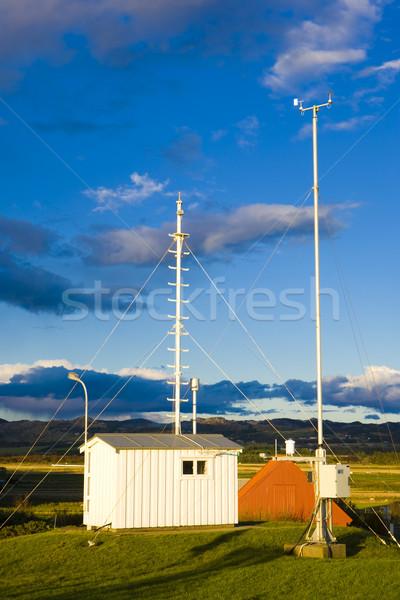 meteorologic station, Lista, Norway Stock photo © phbcz