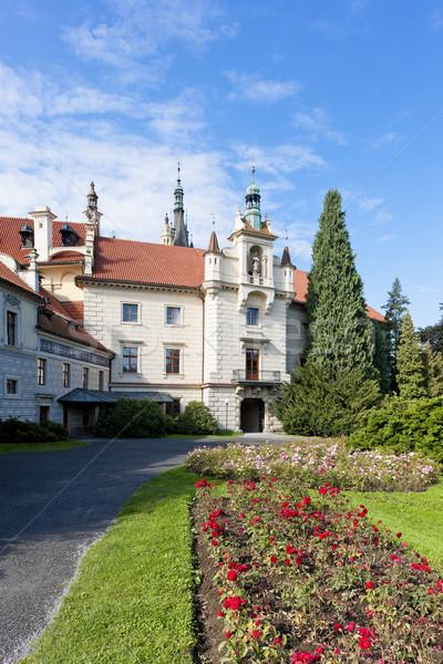 Pruhonice Palace, Czech Republic Stock photo © phbcz