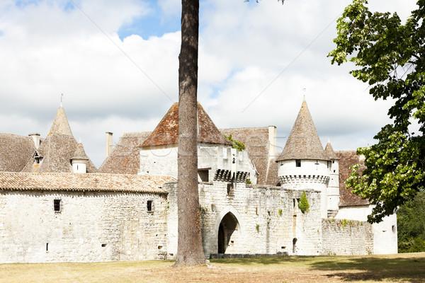 Château département France Voyage architecture Europe Photo stock © phbcz