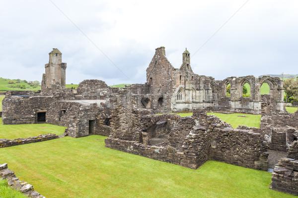 遺跡 修道院 スコットランド 建物 アーキテクチャ ゴシック ストックフォト © phbcz