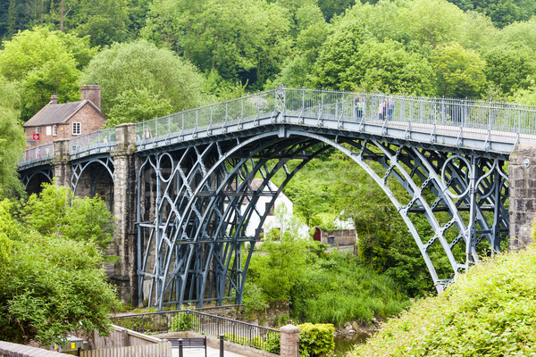 Ironbridge, Shropshire, England Stock photo © phbcz