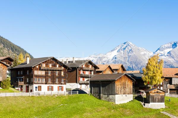Sodrun, canton Graubunden, Switzerland Stock photo © phbcz