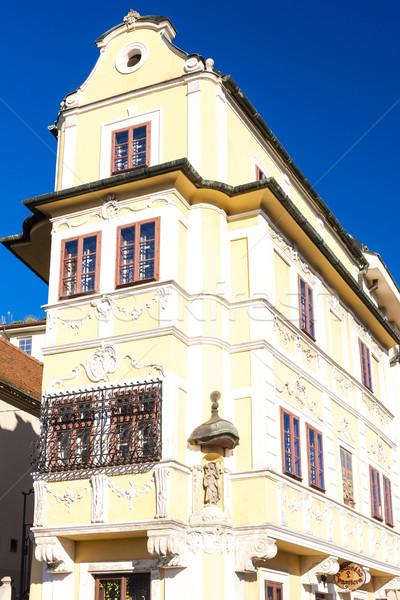 Maison bon pasteur Bratislava Slovaquie bâtiment Photo stock © phbcz